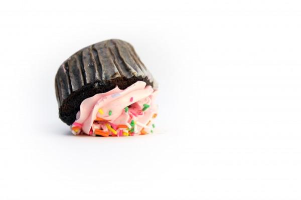 upside down cupcake