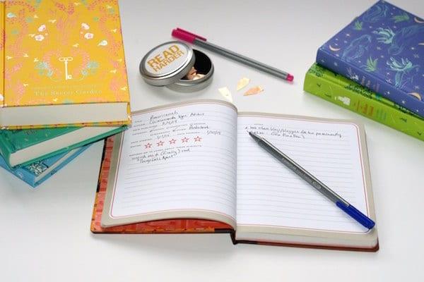 How I track the books I read: digital + physical.