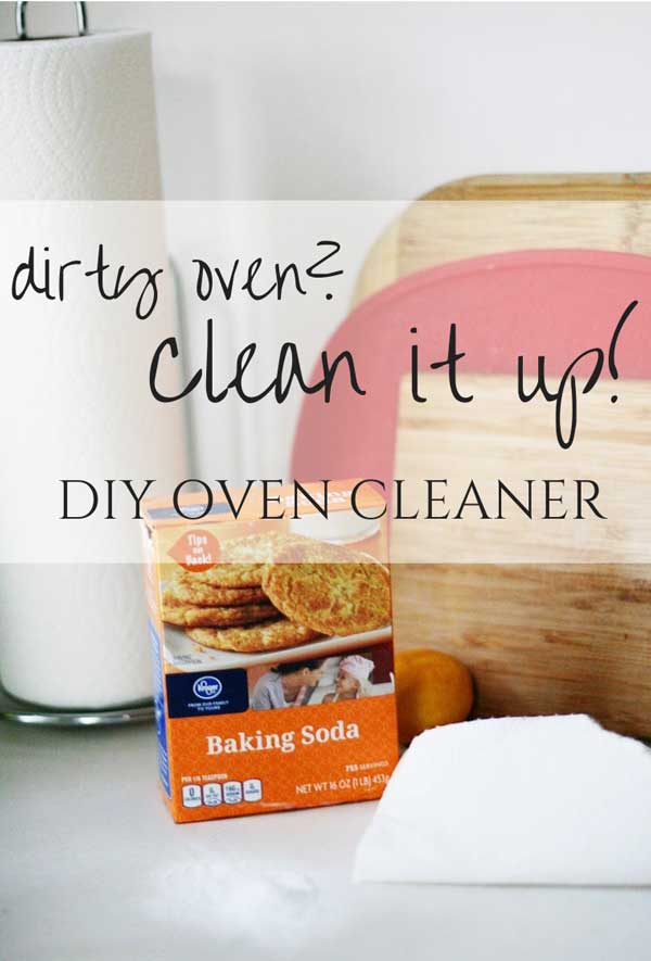 Don't buy one of those nasty commercial oven cleaners. This DIY method is just as effective, but it's all-natural and nontoxic. (Plus a 15-point checklist for spring cleaning the kitchen!)