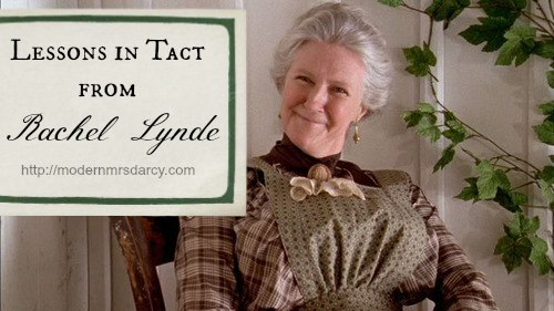 Life Lessons from Green Gables: Learn Tactfulness from Rachel Lynde | Modern Mrs. Darcy