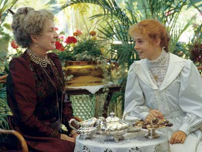 Don't be a drama queen, and other lessons in friendship from Anne Shirley. part of the Life Lessons from Green Gables series. Anne Shirley and Aunt Josephine.