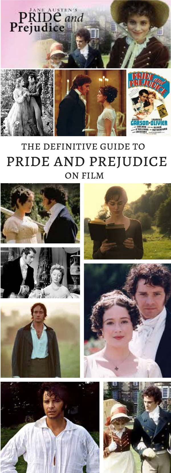 The Definitive Guide to Pride and Prejudice on Film