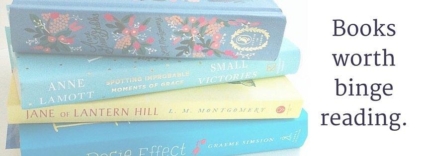 Books worth binge reading.