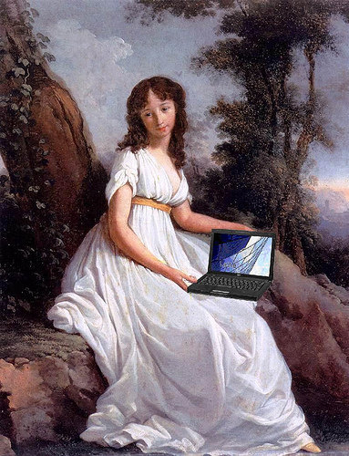 The Modern Accomplished Woman…Gets Her Work Done