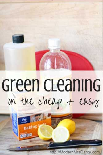 Green cleaning on the cheap (and easy)