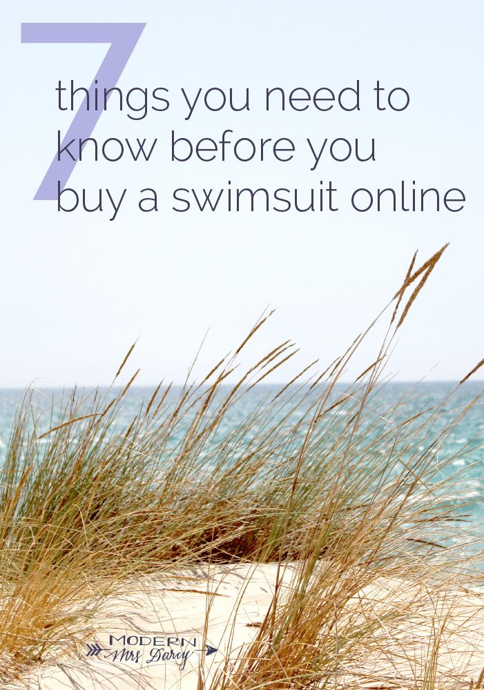 7 Things You Need to Know Before You Buy a Swimsuit Online | Modern Mrs. Darcy