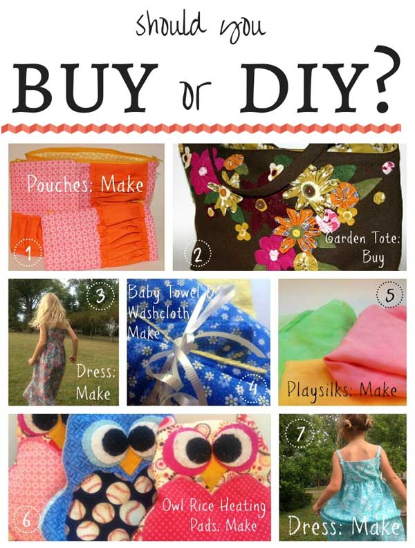 Buy or DIY? Here's how to decide.
