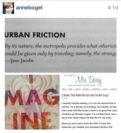 imagine Jonah Lehrer Jane Jacobs quotes cities fuel creativity