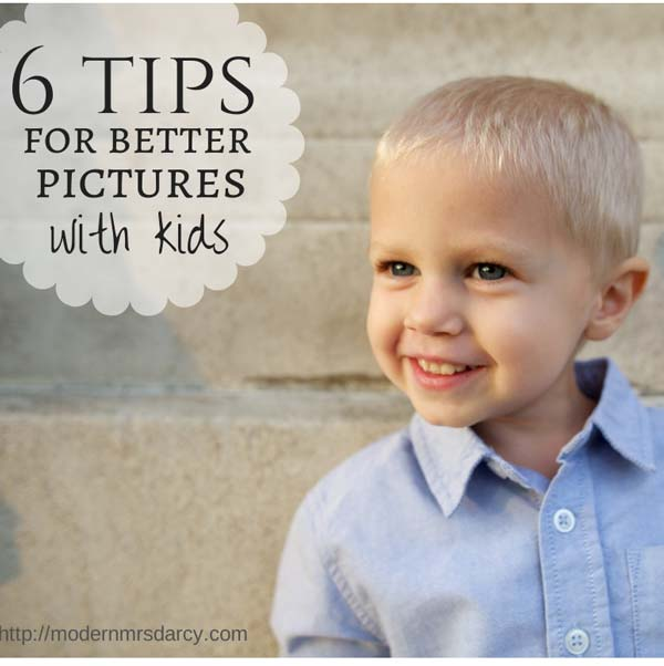 6 tips for better pictures with kids