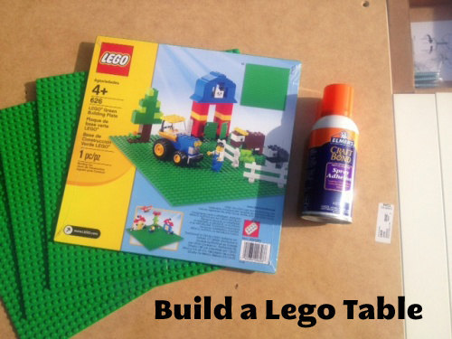 build your own lego table at home diy