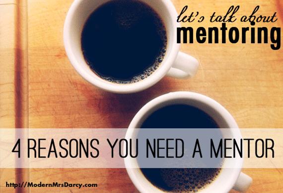 reasons why i need a mentor