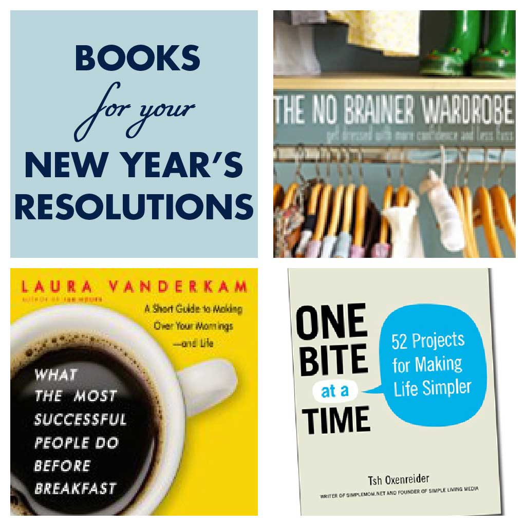 books and blogs to help your new year's resolutions