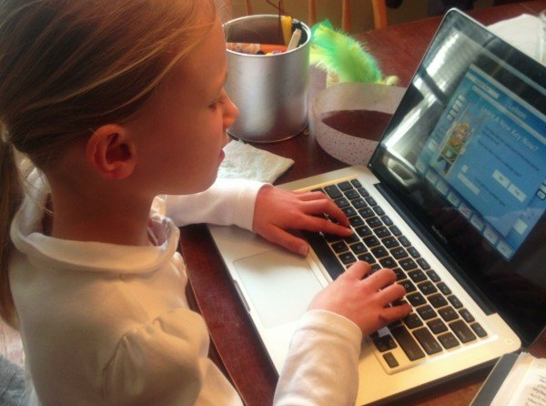 my child wants to blog