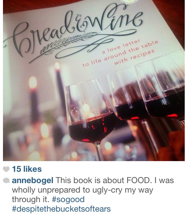 Bread and Wine instagram Shauna Niequist
