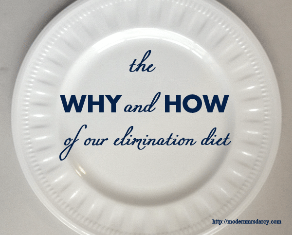 The Why & How of Sarah's Elimination Diet