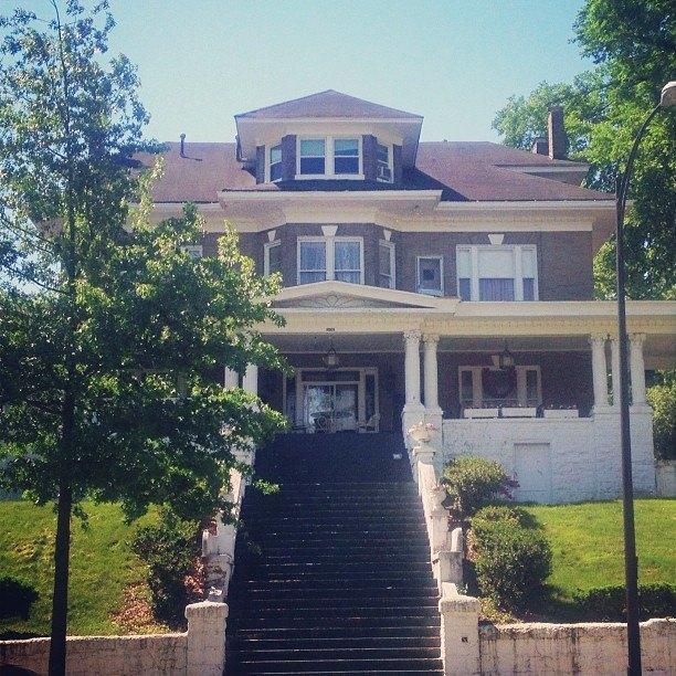 Daisy Buchanan's Louisville house from The Great Gatsby