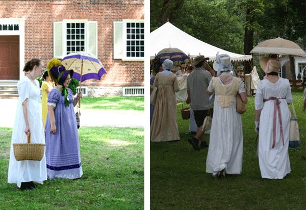 In which I visit the Jane Austen Festival