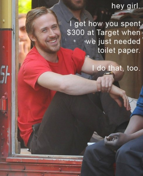 Ryan Gosling Goes Targeting
