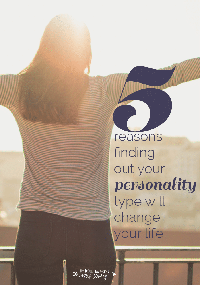 5 reasons to find out your personality type
