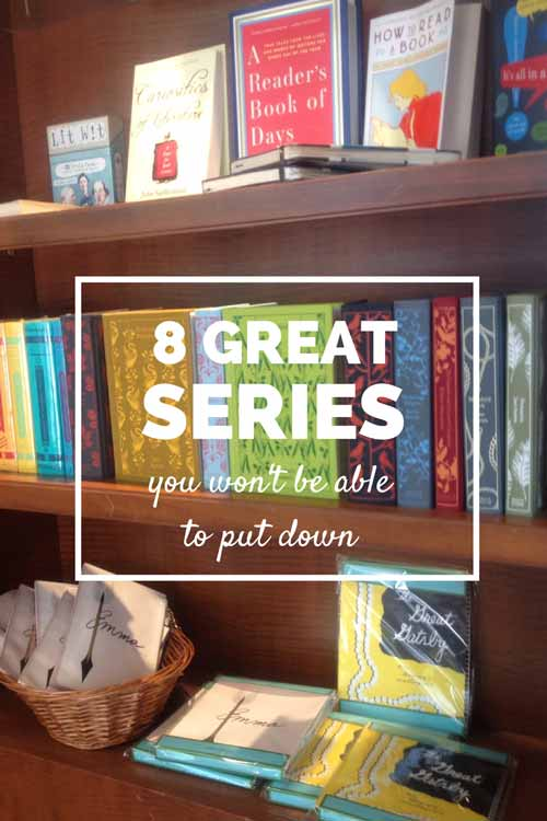 8 great series you won't be able to put down | Modern Mrs Darcy