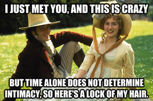 Sense and Sensibility Meets Call Me Maybe | Modern Mrs Darcy