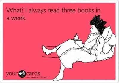 3 books a week