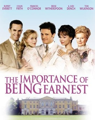 The Importance of Being Earnest. 31 Days of Cult Classics | Modern Mrs Darcy