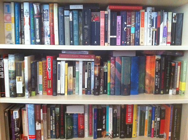 What's on YOUR bookshelf? (the non-blogger edition)
