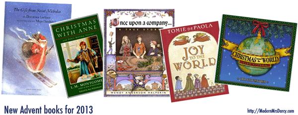 a literary Advent countdown | Modern Mrs Darcy