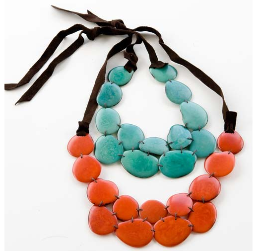 Inca steps necklace from Noonday Collection