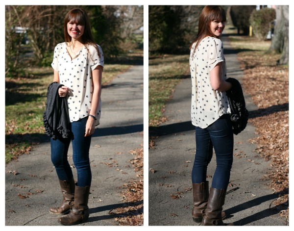 Daniel Rainn blouse from Stitch Fix | Modern Mrs Darcy
