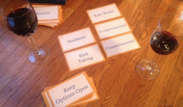 enneagram flashcard session