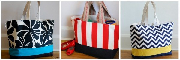 Extra-large tote bag from Lucy Jane totes