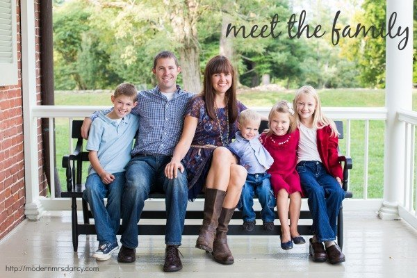 Meet the Family | Modern Mrs Darcy