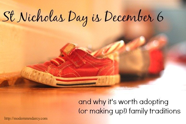 Why it's worth adopting (or inventing) family traditions