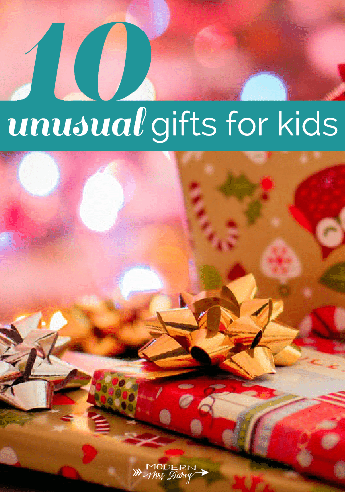 unusual gifts for kids