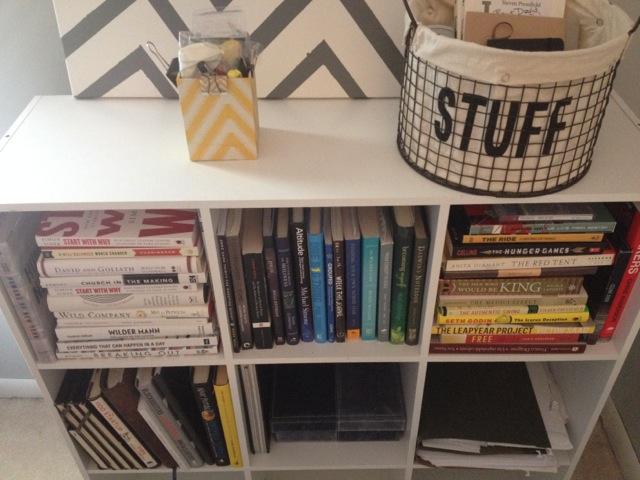 Other people's bookshelves with Ben Arment
