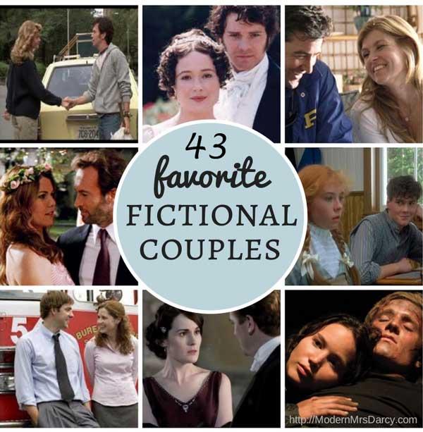 43 favorite fictional couples