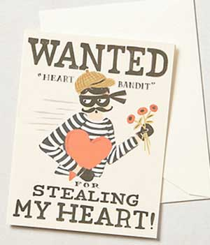 Wanted for stealing my heart