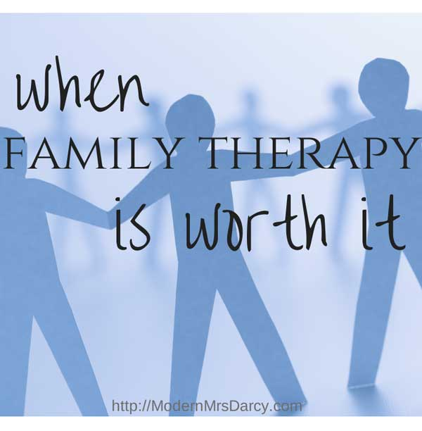 when family therapy is worth it