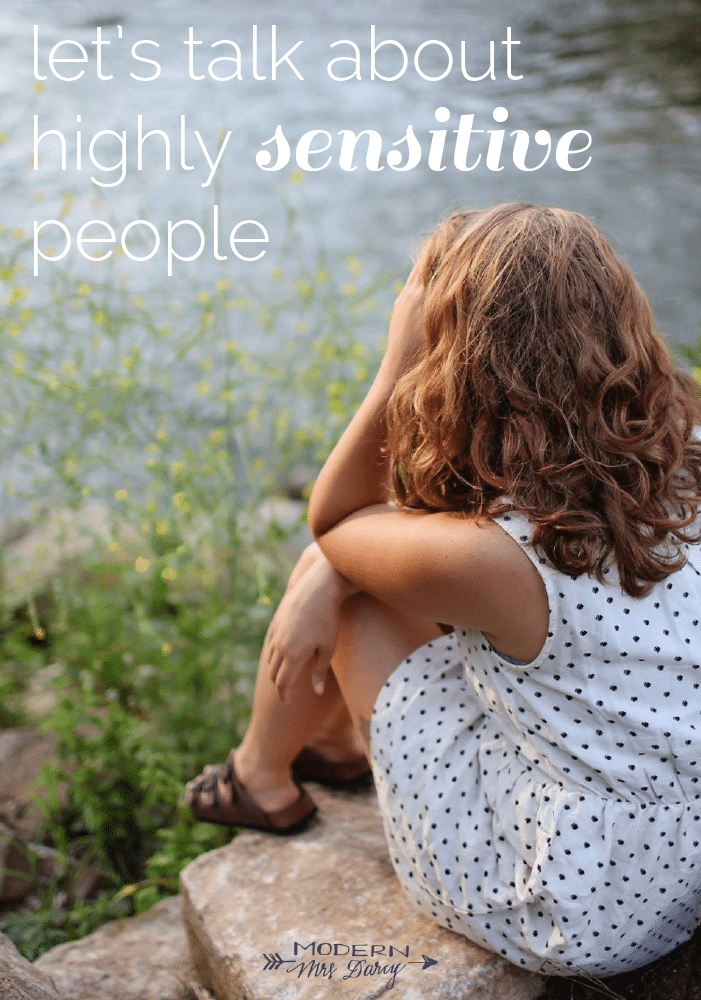 Let's talk about highly sensitive people | Modern Mrs. Darcy