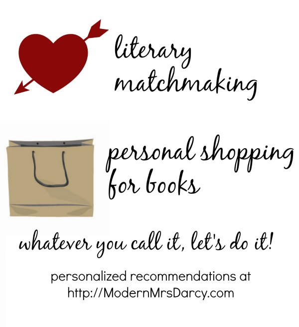 literary matchmaking, personal shopping for books