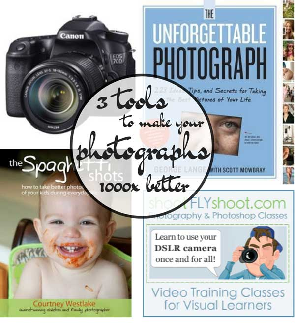 3 tools to make your photographs 1000x better.