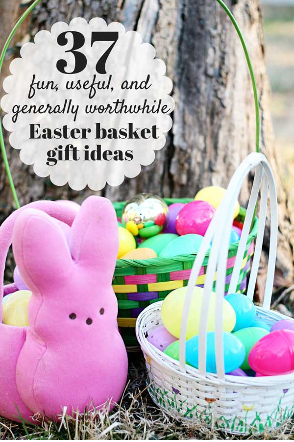 37 fun useful and generally worthwhile gifts for your kids 37 fun and useful easter gift basket ideas that your kids will use after easter monday negle Images