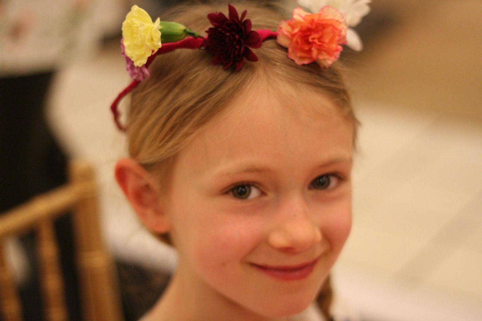 Sarah flower crown