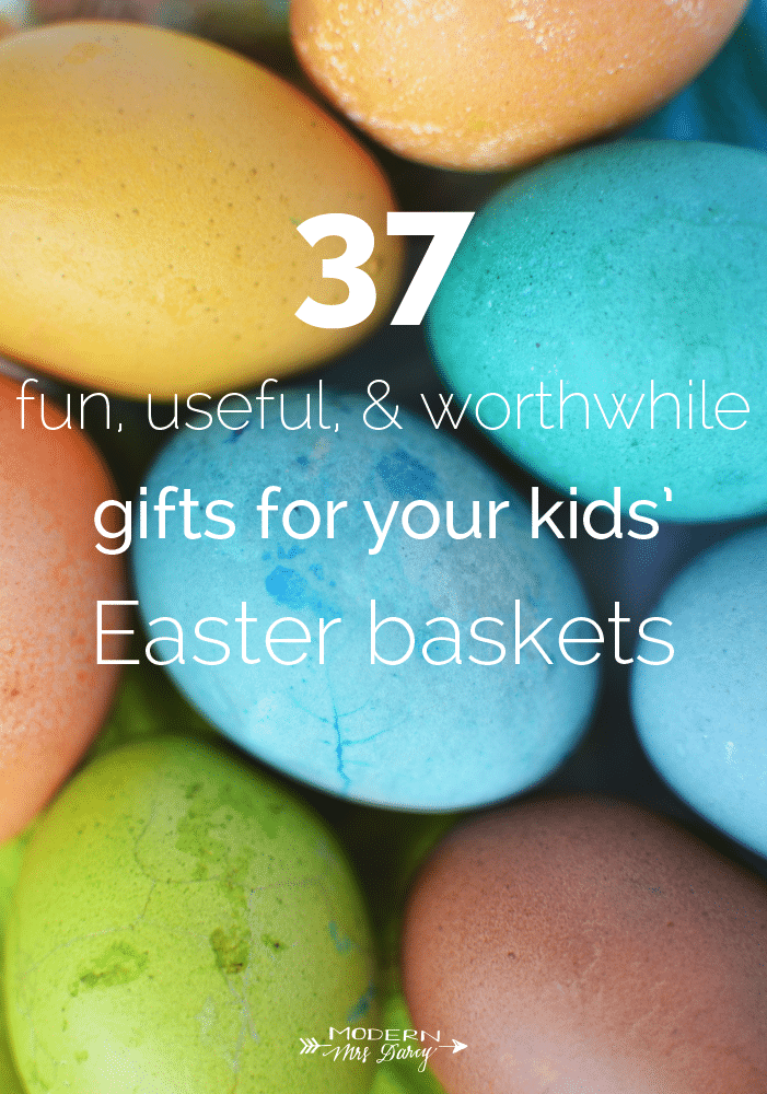 37 fun useful and generally worthwhile gifts for your kids tell us your favorite easter basket gift ideas in comments negle Image collections