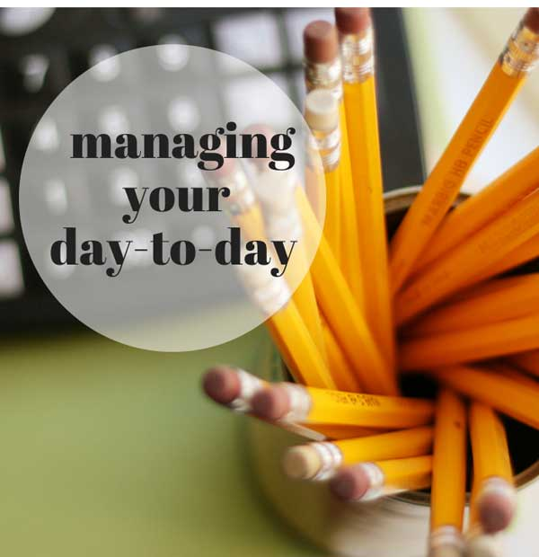 managing your day-to-day: the importance of rest, renewal, and hard stops