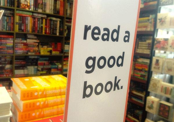 A bookworm's pipe dream