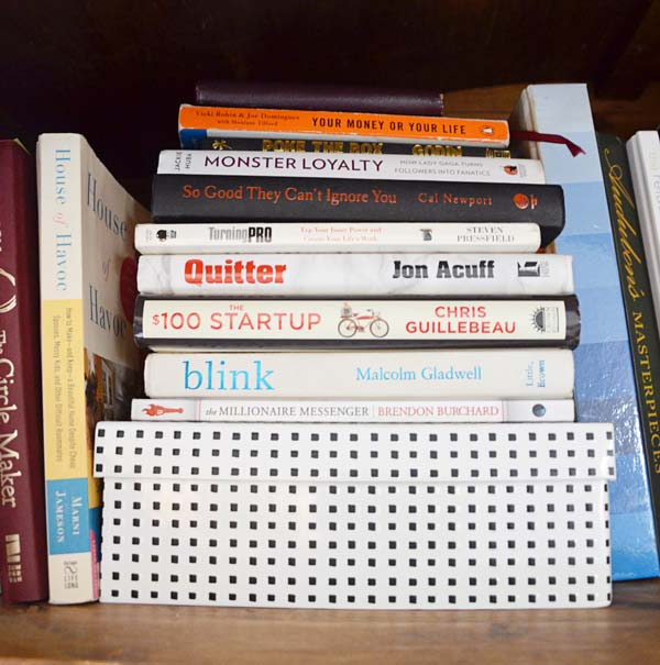 Other People's Bookshelves, featuring Myquillyn Smith (the Nester) of Nesting Place