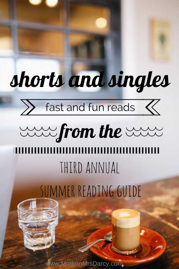 The 2014 Summer Reading Guide from Modern Mrs Darcy: shorts and singles